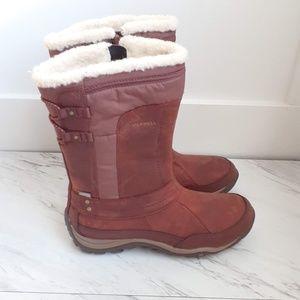 Merrell Warm Terracotta Mid-Calf Boots New